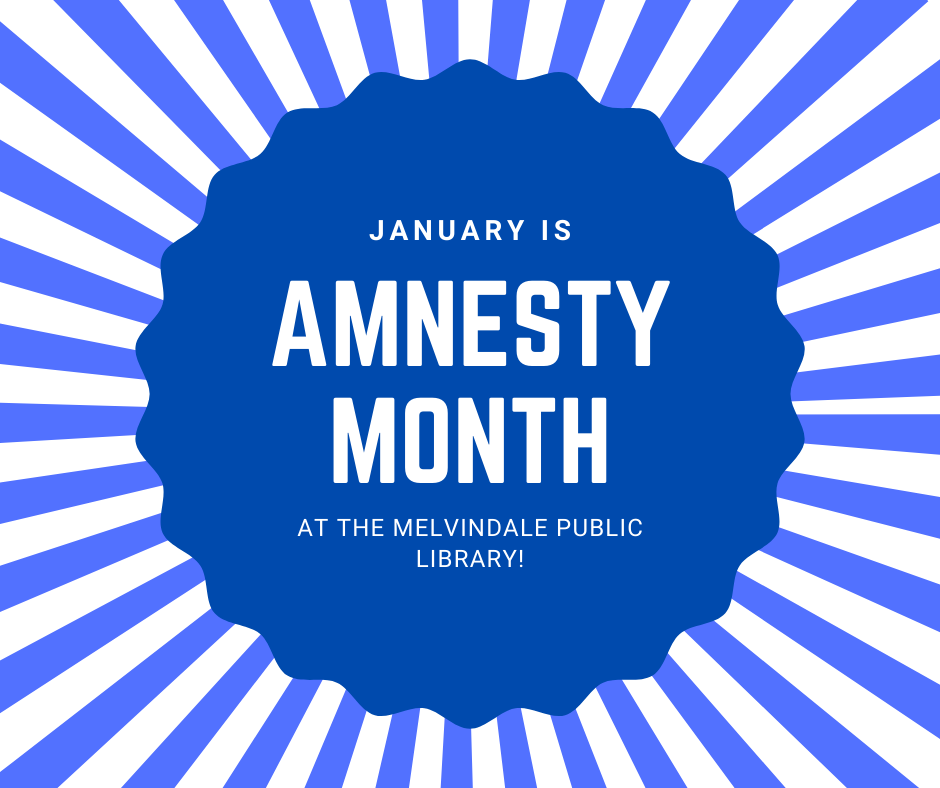 January is amnesty month!