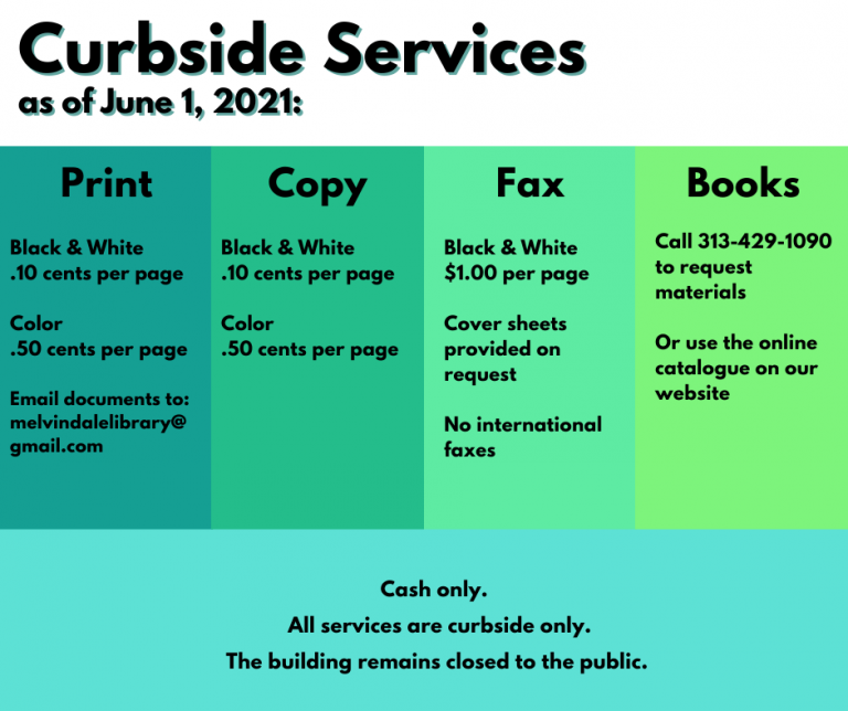 Curbside Services 6-1